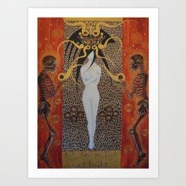 Ich Bin Im Tod Erbluht (In Death Have I Bloomed) Art Print