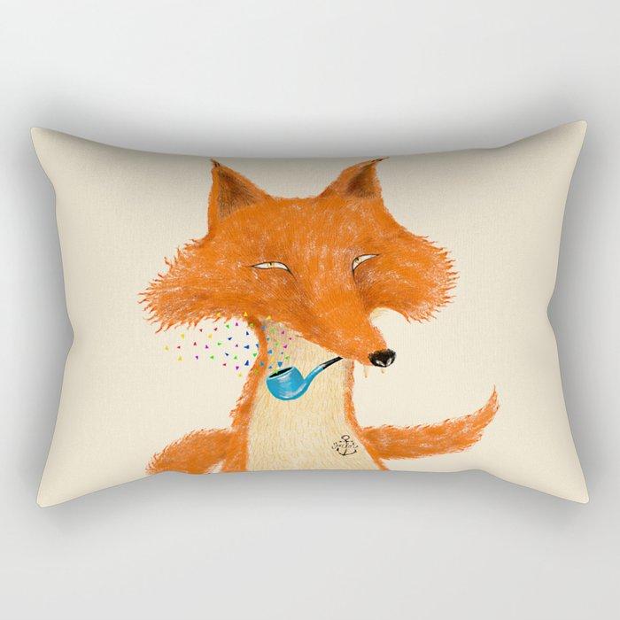 Fox III Rectangular Pillow