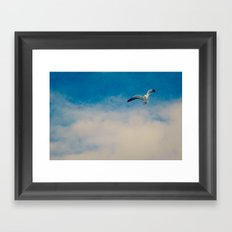 gull ible... Framed Art Print