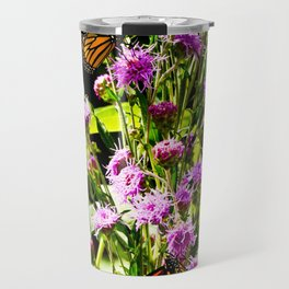 Monarch Butterfly Couple Travel Mug