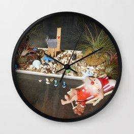 Xmas Downunder Wall Clock