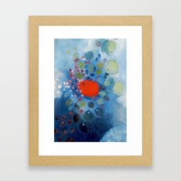 TRANSFORMING DISTANCE 1 Framed Art Print