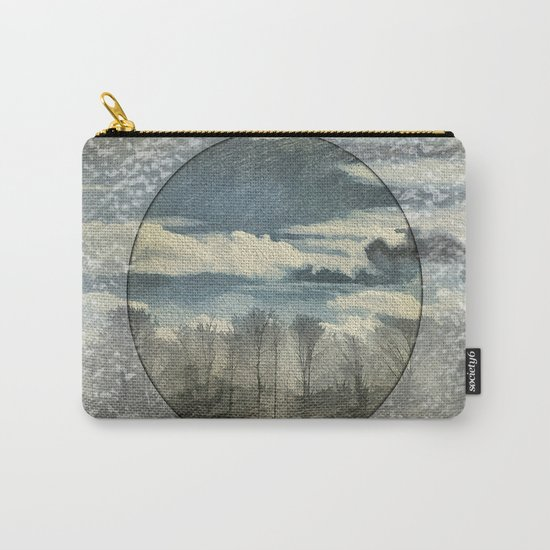 Circle Of Life Mirror Landscape Carry-All Pouch