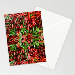 Hot Chili Pepper Stationery Cards