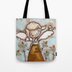 I Am Listening - by Diane Duda Tote Bag