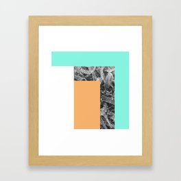 Rectangle Framed Art Print