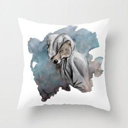 Mister Renard Throw Pillow