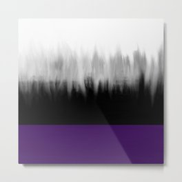 Asexuality Spectrum Flag Metal Print