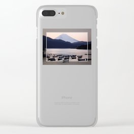 Lonely after Dark (Japan) Clear iPhone Case