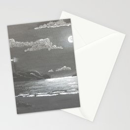 Quiet Night Stationery Cards