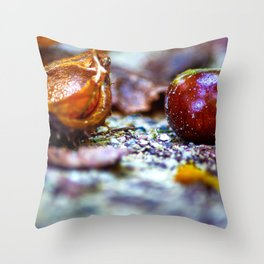 Autumn impressions Throw Pillow