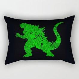 Japanese Monster - II Rectangular Pillow