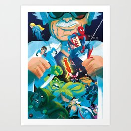The Marvelous Mr. Lee Art Print