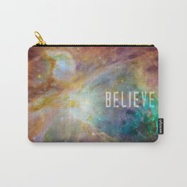 Believe -  Space and Universe Carry-All Pouch