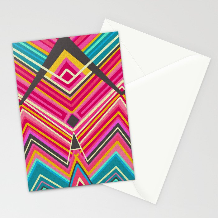picchu pink Stationery Cards