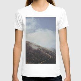 Cloudy Hills, Madeira Island. Portugal. Fine Art Travel Print. Nature Wall Art. T-shirt