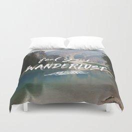 Feel your Wanderlust Duvet Cover