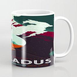 Vintage poster -Enceladus Coffee Mug
