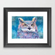 Wandering Owl Framed Art Print