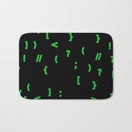 Code chars Bath Mat