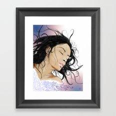 Serena. Framed Art Print
