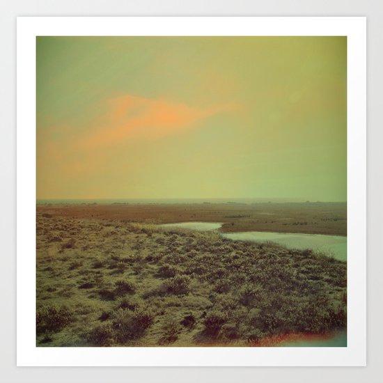 Lonely Landscape Art Print