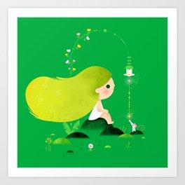 Lemon Lime Art Print