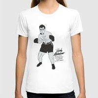 rocky T-shirts featuring Rocky - Rocky Marciano by V.L4B