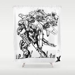 Xenoblade Chronicles X Shower Curtain