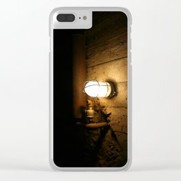 Darkness Consumes The Light Clear iPhone Case