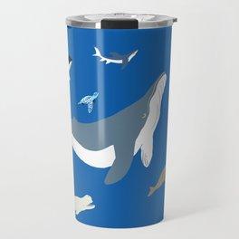sea yoga Travel Mug