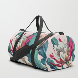 Flowering cactus IV Duffle Bag
