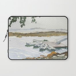 The Boats Are Singing Laptop Sleeve