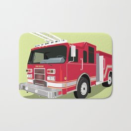 Fire Truck Bath Mats For Any Bathroom