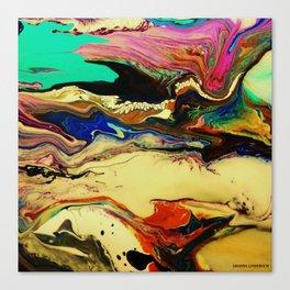 intestine Canvas Print