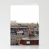 brussels Stationery Cards featuring Brussels by Anastasiia Prysiazhniuk