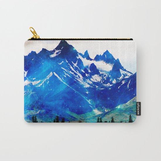 Galaxy Mountain V2 #society6 #decor #buyart Carry-All Pouch