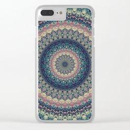 Mandala 435 Clear iPhone Case