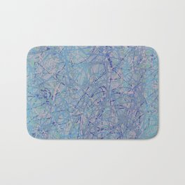Pastel Scribbles Bath Mat