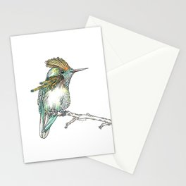 The Tufted Coquette Stationery Cards