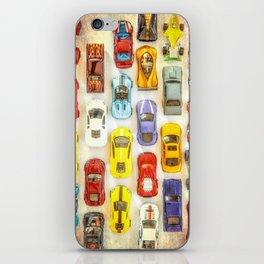 Vintage Toy Cars iPhone Skin