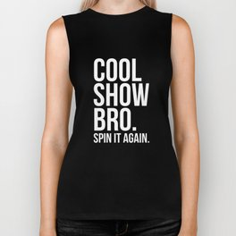 Cool Show Bro Spin it Again Color Guard T-Shirt Biker Tank