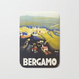 1920s Bergamo Italy travel Bath Mat