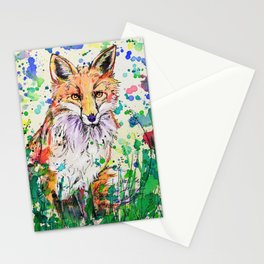 Red Tail Stationery Cards