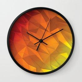 I Love Low Poly 4 Wall Clock
