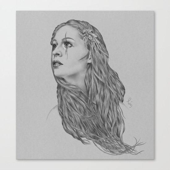 Last hope - Digital painting Canvas Print