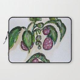 Hanging Raspberries Laptop Sleeve