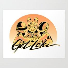 Get Loki Art Print
