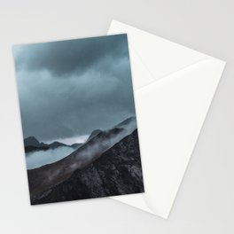 Misty morning before the summer storm Stationery Cards