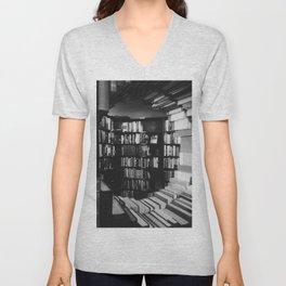 The Last Bookstore, Los Angeles, California  Unisex V-Neck
